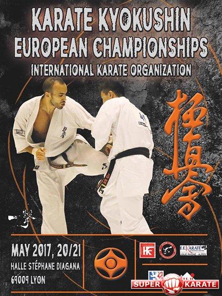 Российская команда на 31-й Чемпионат Европы по киокушинкай
